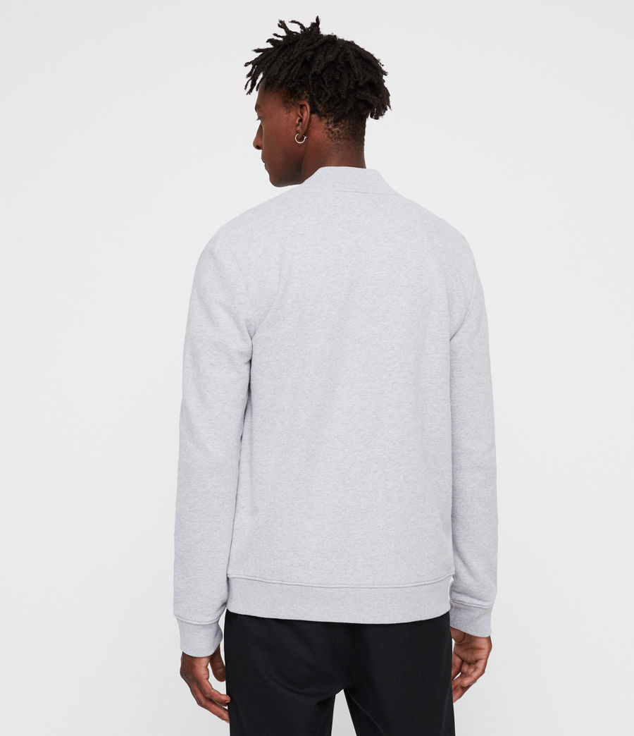 Men's Raven Sweat Bomber (grey_marl) - Image 3