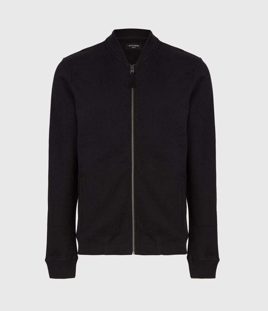 Men's Raven Bomber Jacket (jet_black) - Image 2