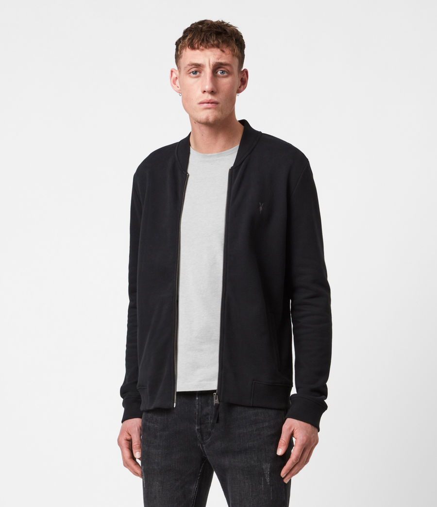 Men's Raven Bomber Jacket (jet_black) - Image 4