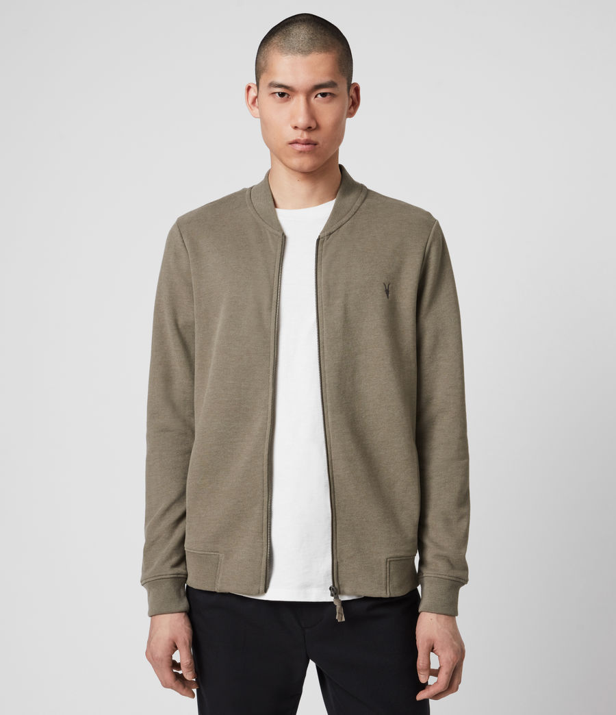 Hombres Raven Bomber Jacket (beech_green_marl) - Image 1