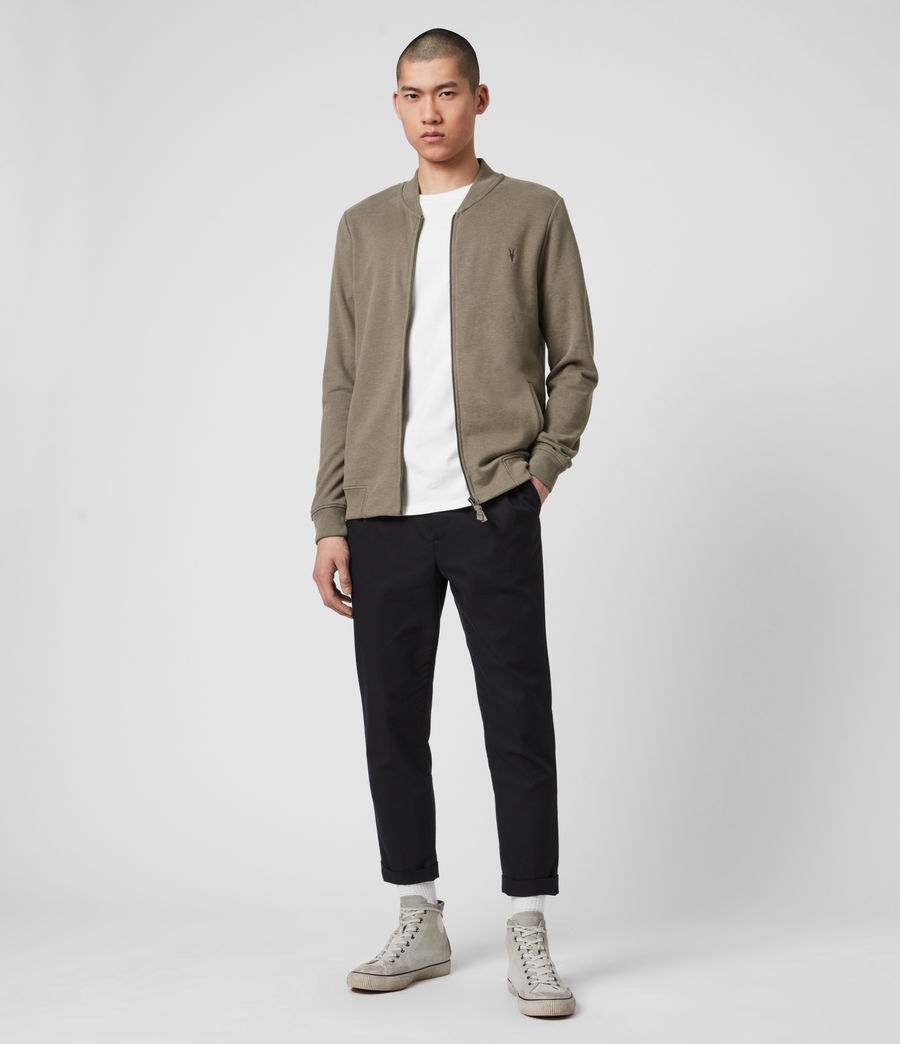 Hombres Raven Bomber Jacket (beech_green_marl) - Image 3