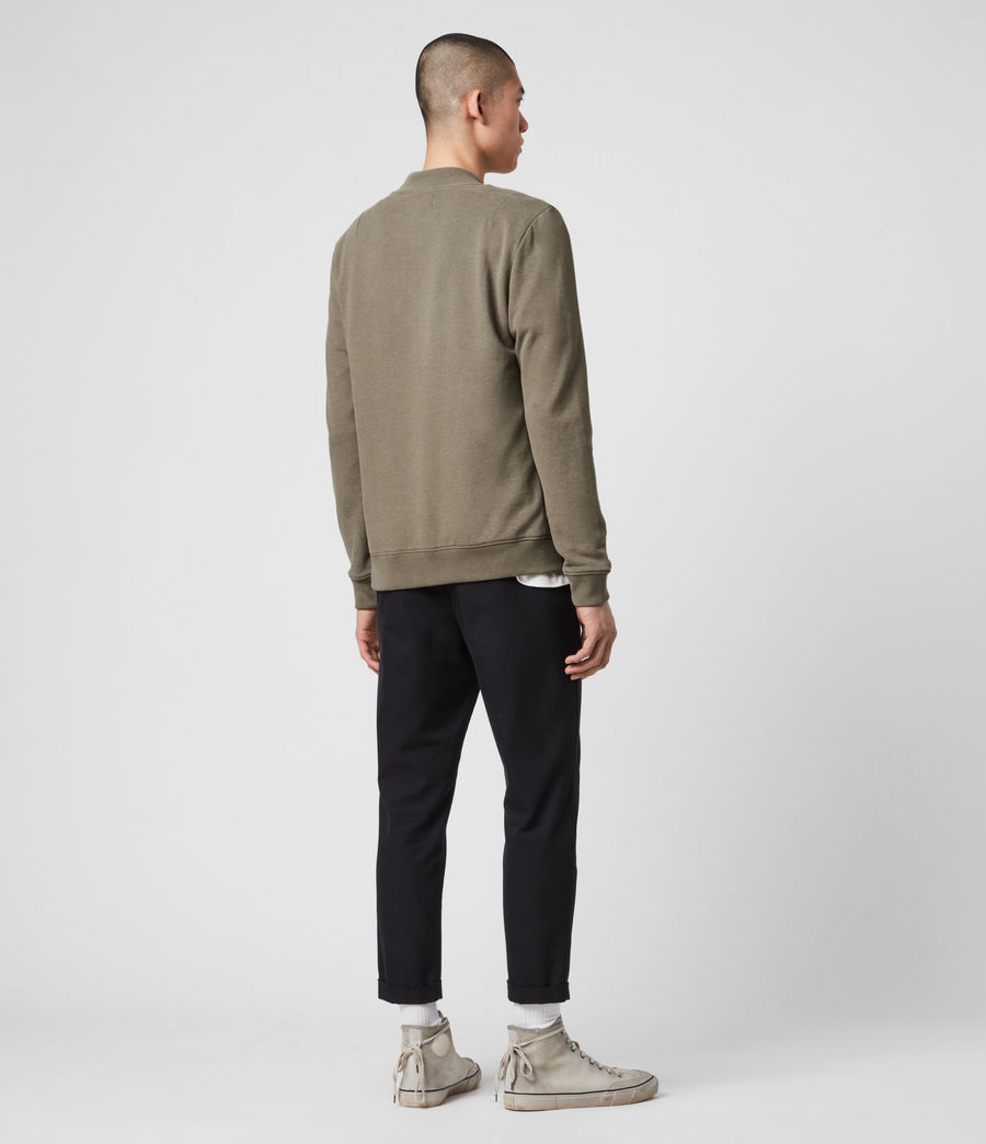 Hombres Raven Bomber Jacket (beech_green_marl) - Image 5