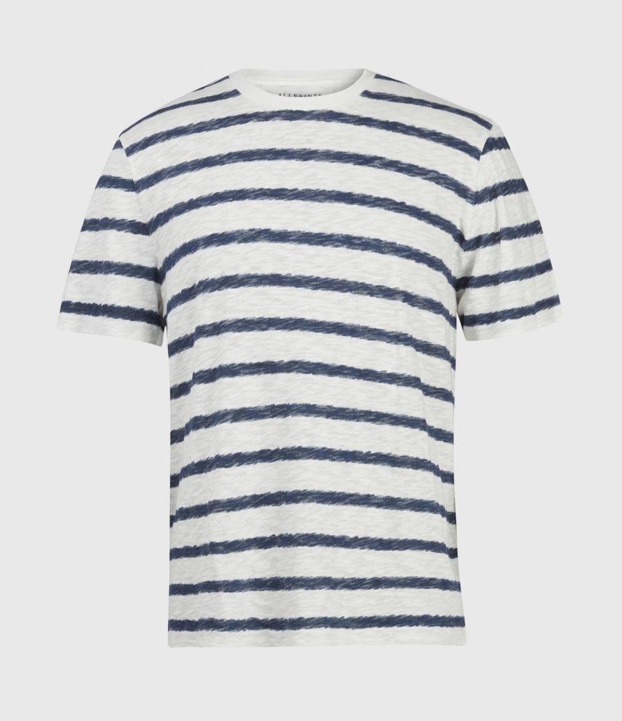 Hombres Rosebowl Crew T-Shirt (chlk_wht_blu_spray) - Image 1