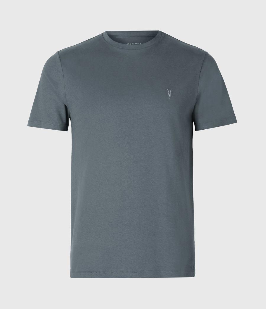 Mens Brace Crew T-Shirt (mercer_green) - Image 2