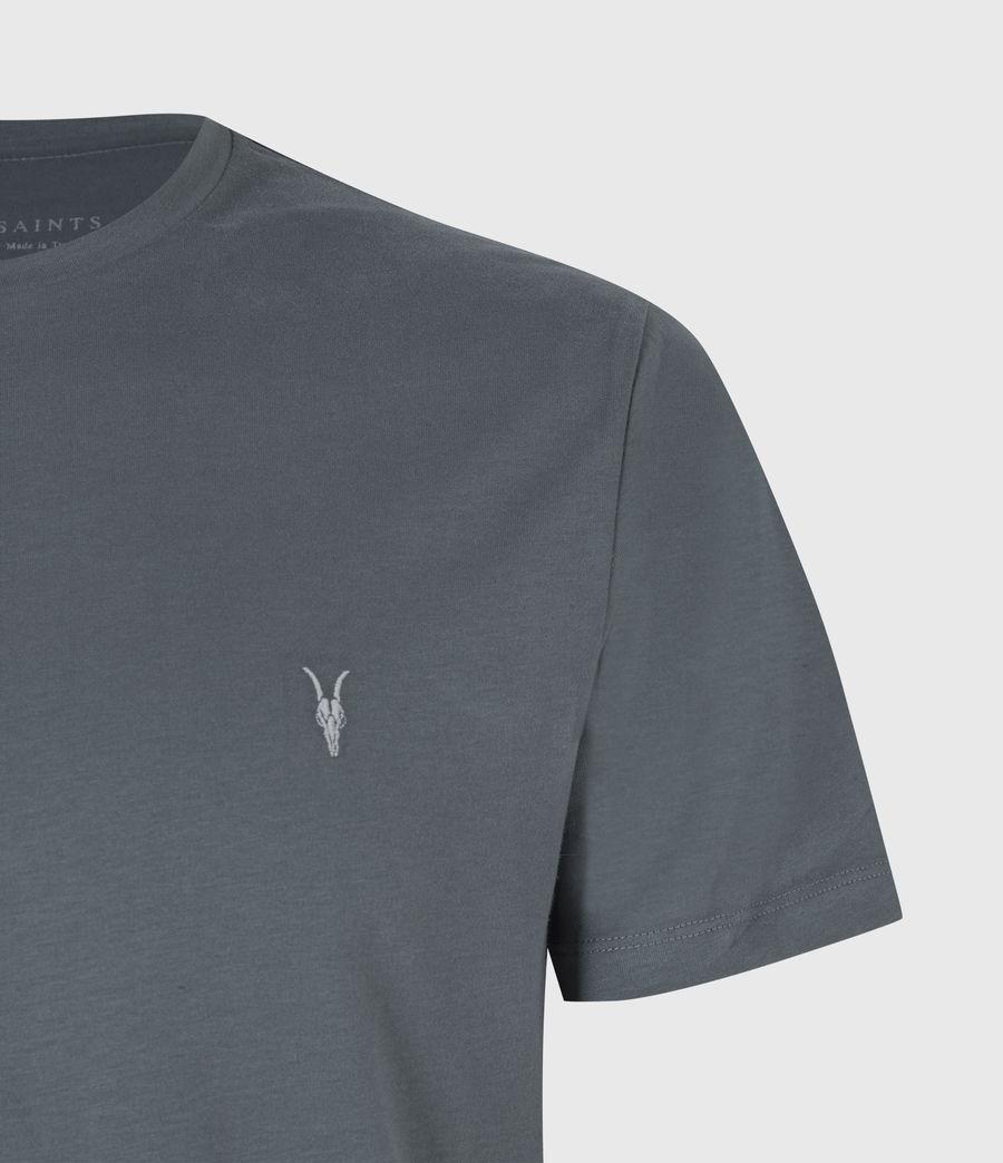 Mens Brace Crew T-Shirt (mercer_green) - Image 5