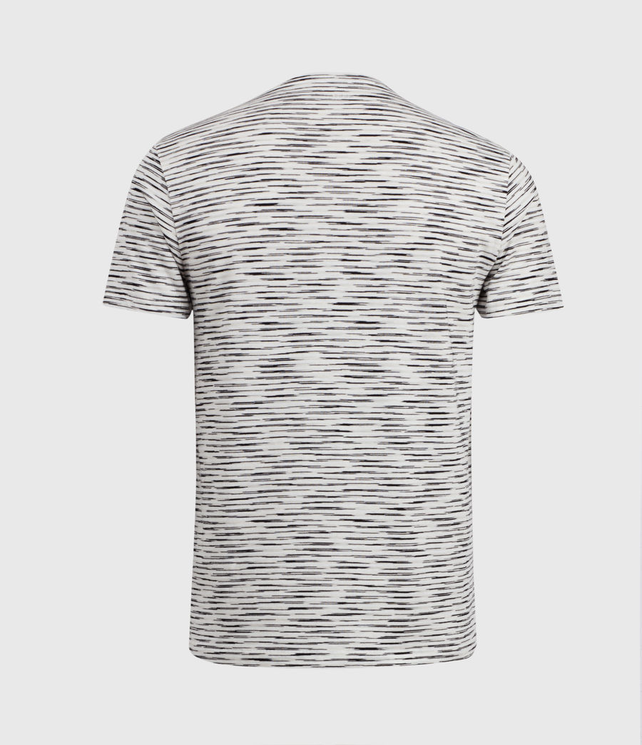 Mens Kora Crew T-Shirt (grey_mouline_chalk) - Image 3