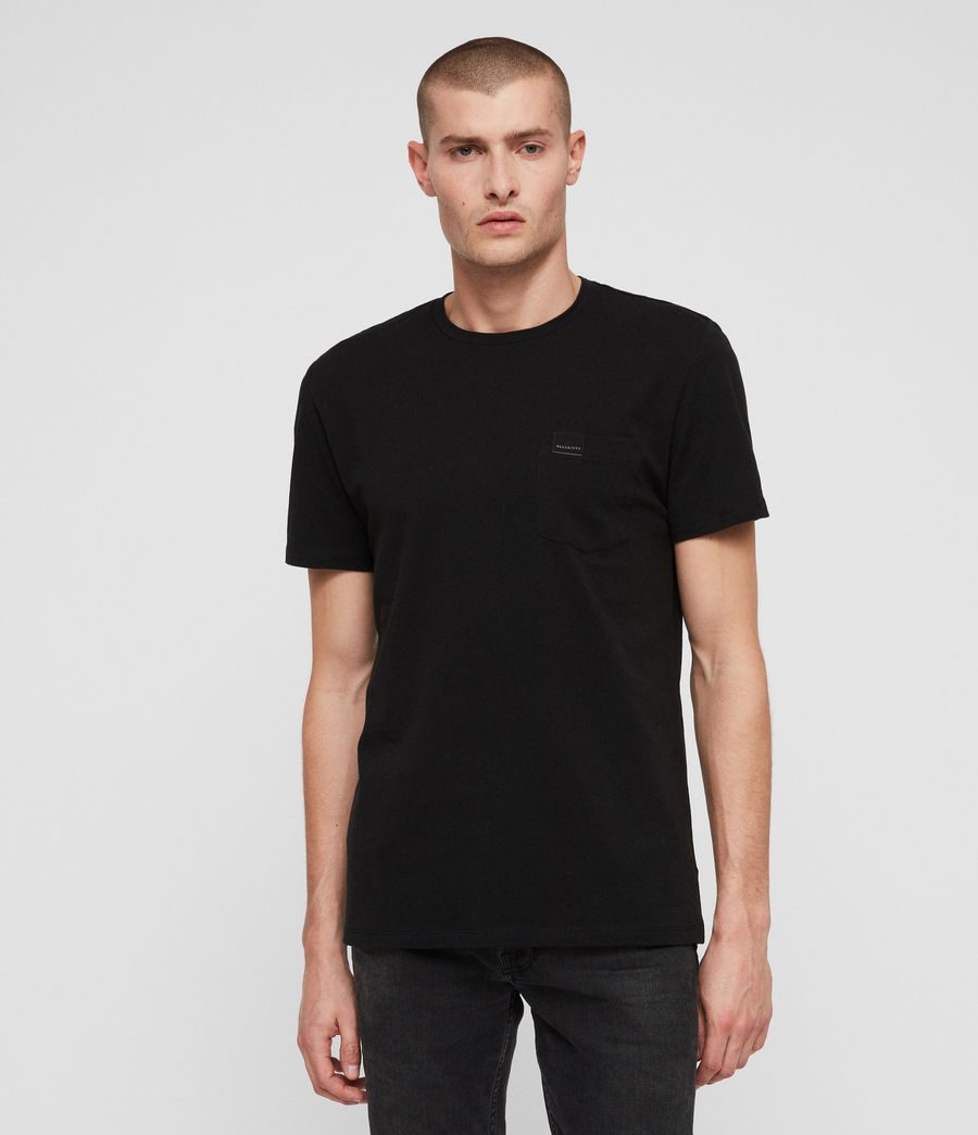 Men's Heal Tonic Crew T-Shirt (jet_black) - Image 1