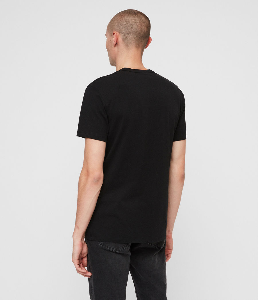 Men's Heal Tonic Crew T-Shirt (jet_black) - Image 4
