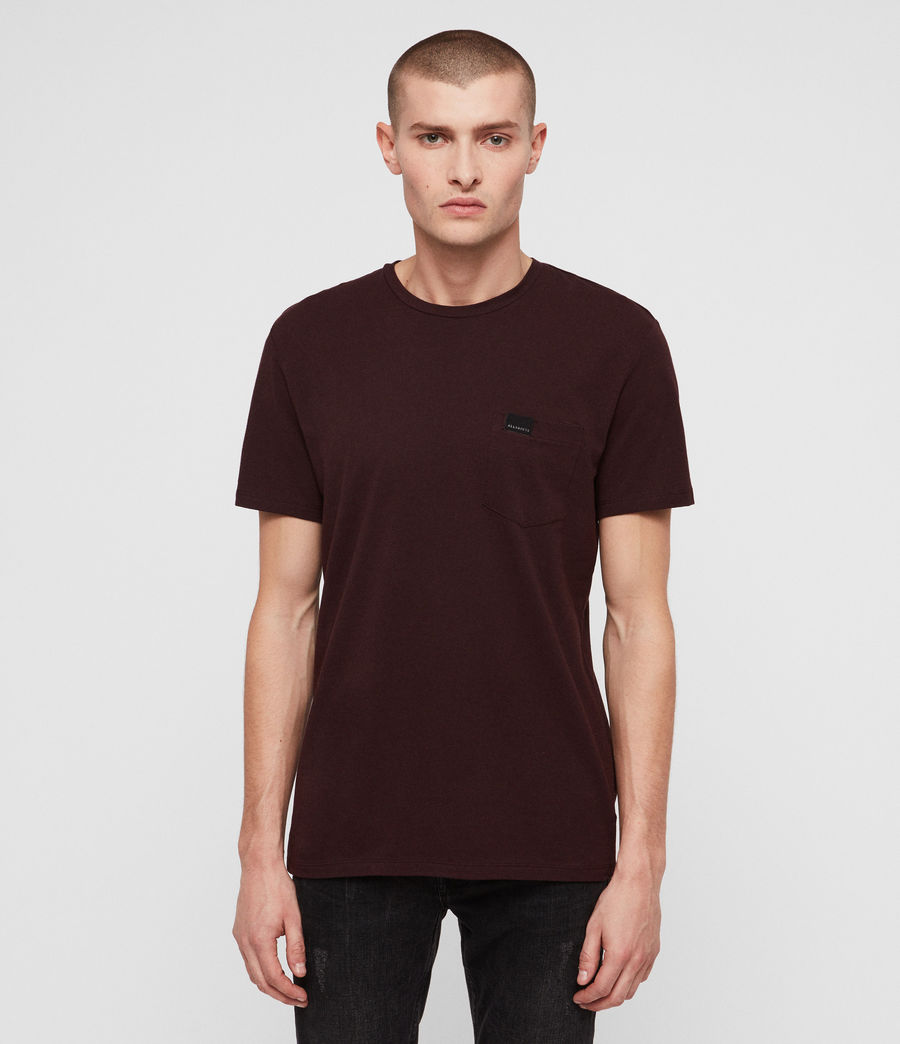 Men's Heal Tonic Crew T-Shirt (deep_red) - Image 1