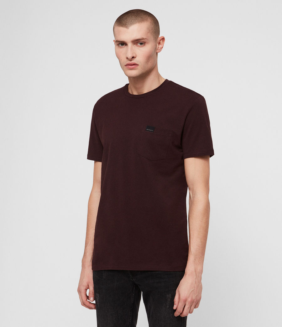 Men's Heal Tonic Crew T-Shirt (deep_red) - Image 4