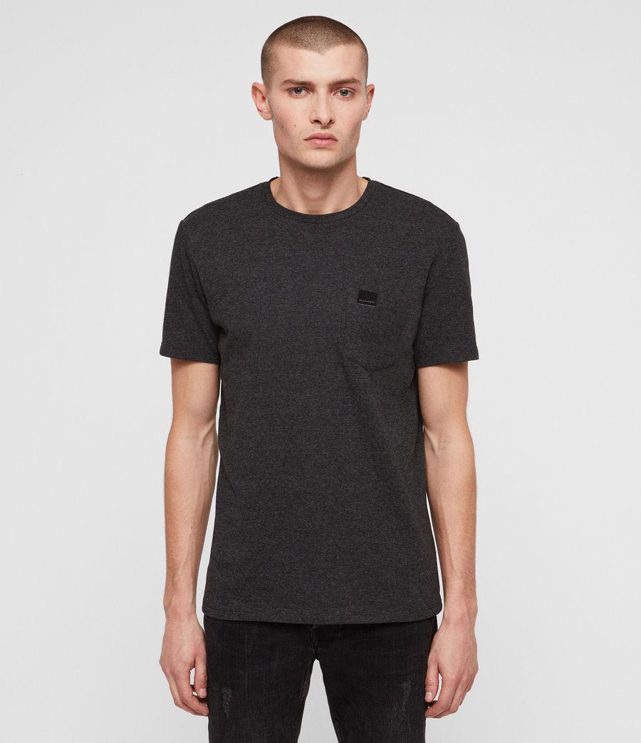 Mens Heal Tonic Crew T-Shirt (charcoal_marl) - Image 1