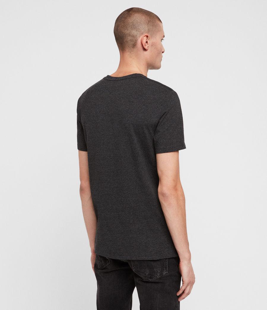 Mens Heal Tonic Crew T-Shirt (charcoal_marl) - Image 5