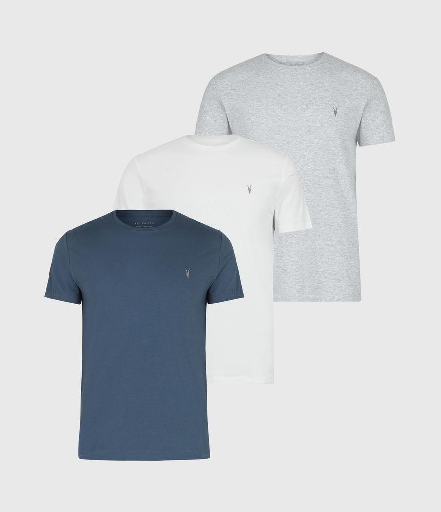 Men's Brace Tonic Crew T-Shirt 3 Pack (blue_grey_white) - Image 1