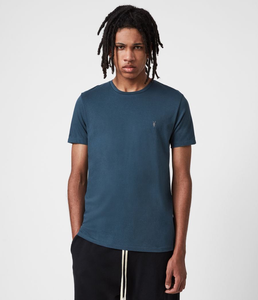 Men's Brace Tonic Crew T-Shirt 3 Pack (blue_grey_white) - Image 2