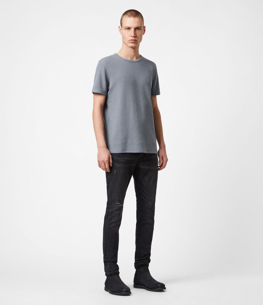 Herren Muse Crew T-Shirt (twilight_grey) - Image 4