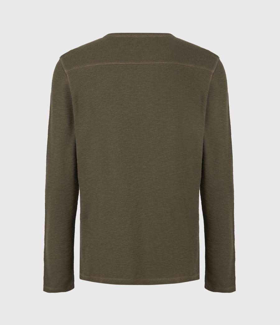 Mens Muse Long Sleeve Crew T-Shirt (balkan_green) - Image 3