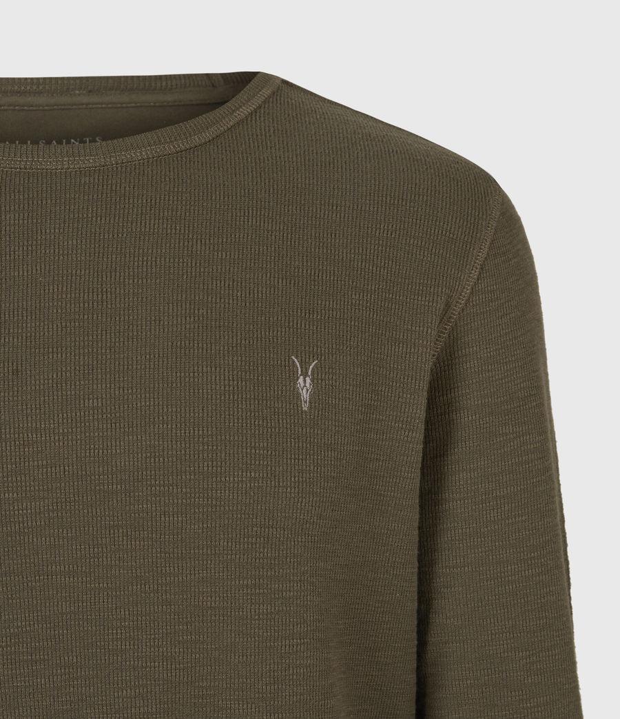 Mens Muse Long Sleeve Crew T-Shirt (balkan_green) - Image 5