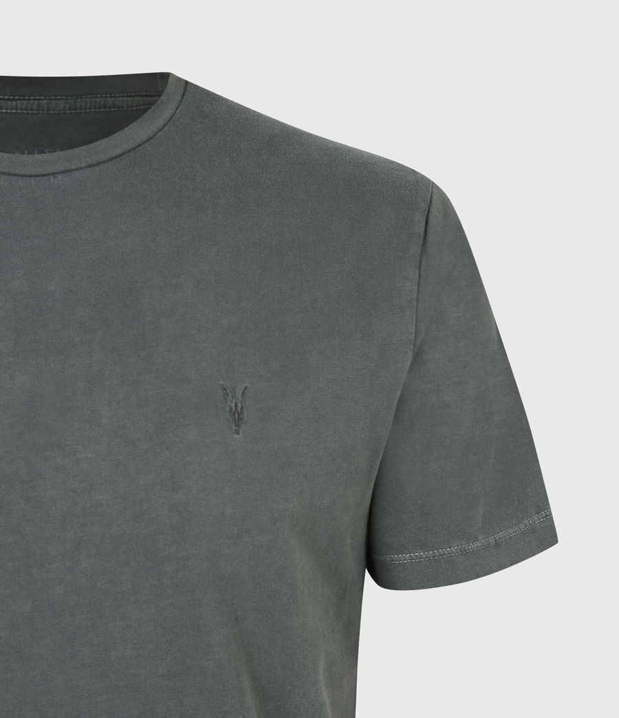 Mens Ossage Crew T-Shirt (sacremento_green) - Image 5