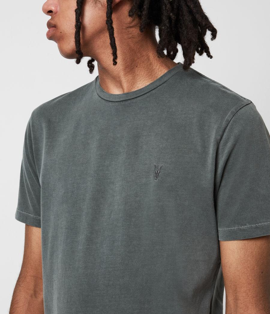 Mens Ossage Crew T-Shirt (sacremento_green) - Image 6