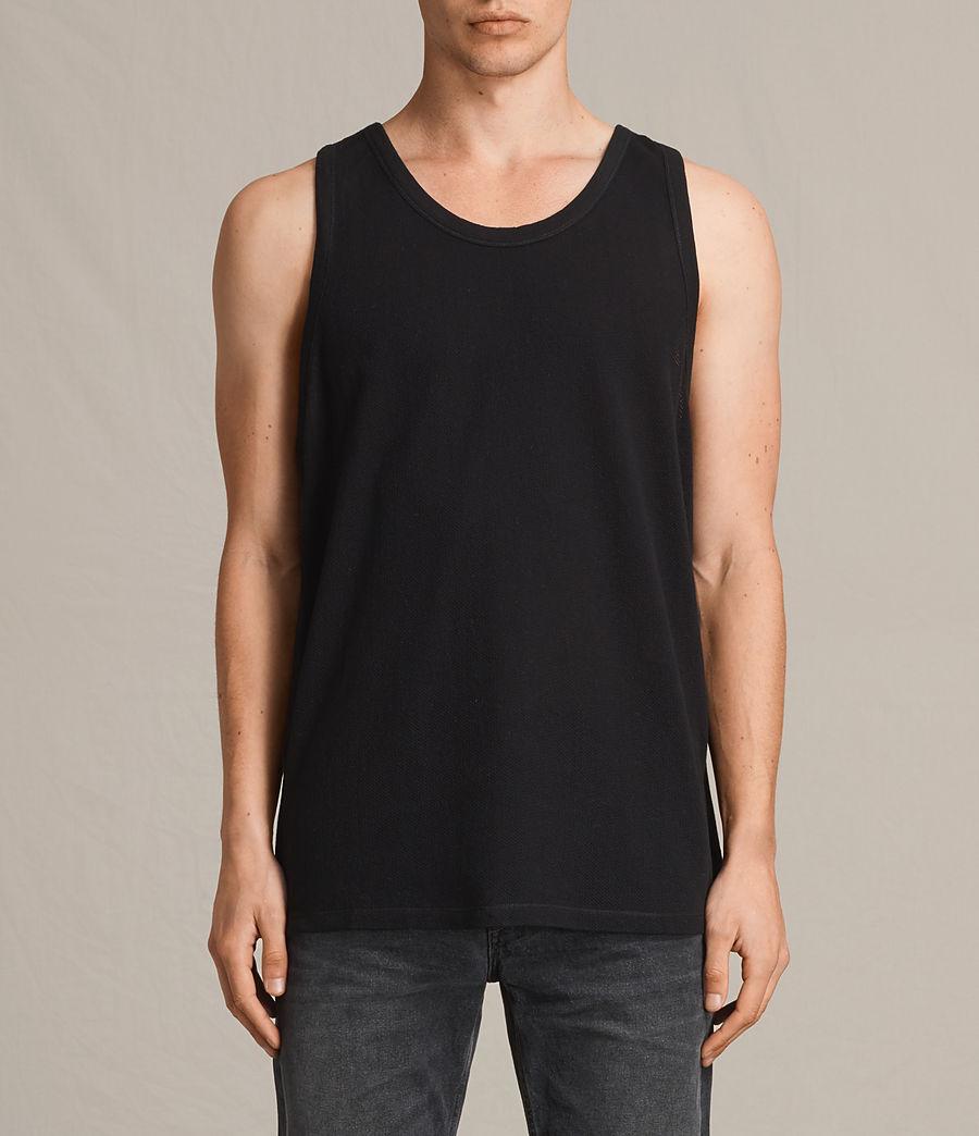 Men's Hiruma Vest (jet_black) - Image 1