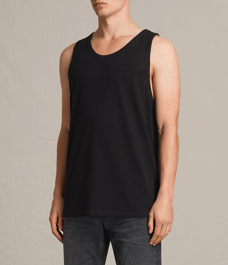 Men's Hiruma Vest (jet_black) - Image 2