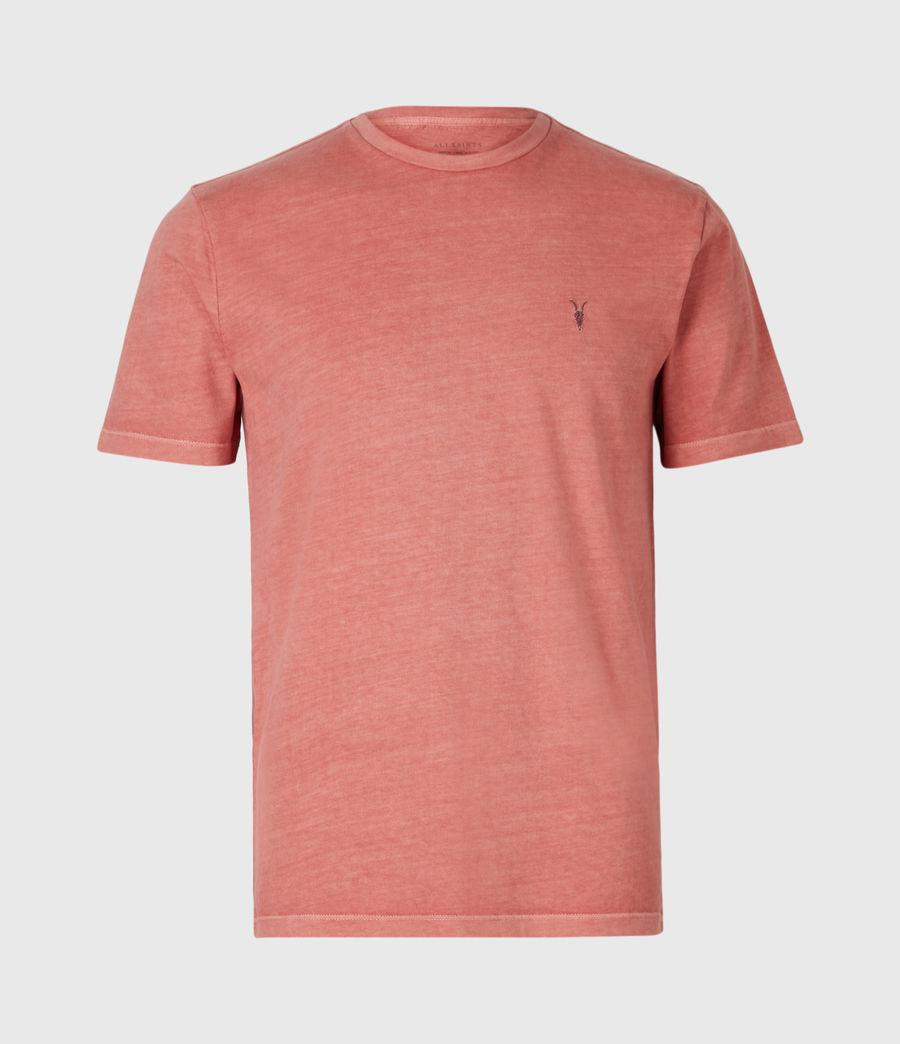 Mens Ossage Crew T-Shirt (sunrise_pink) - Image 2