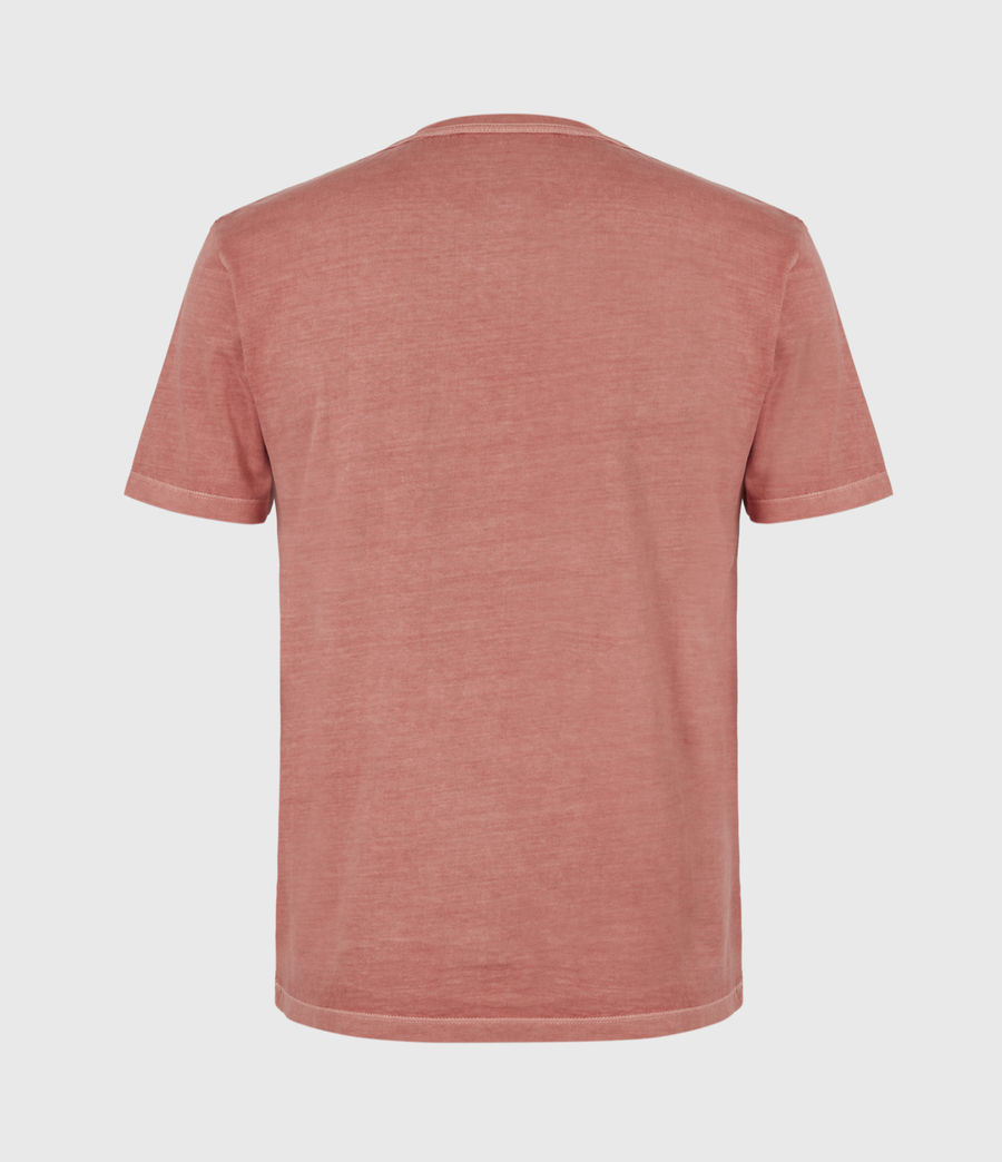 Mens Ossage Crew T-Shirt (sunrise_pink) - Image 3