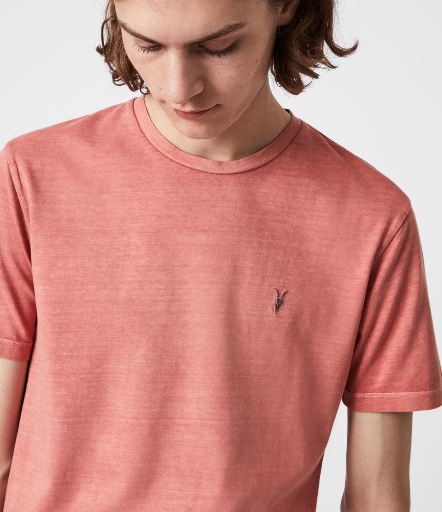 Mens Ossage Crew T-Shirt (sunrise_pink) - Image 4