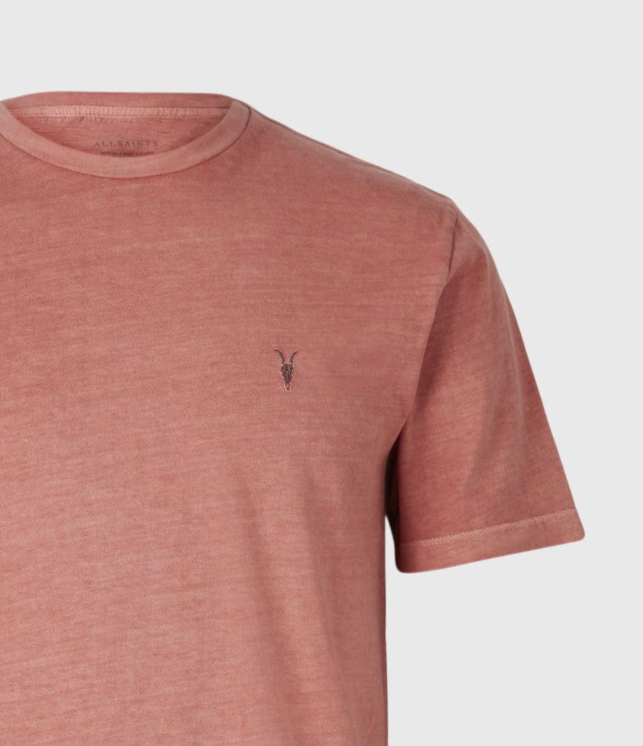 Mens Ossage Crew T-Shirt (sunrise_pink) - Image 5