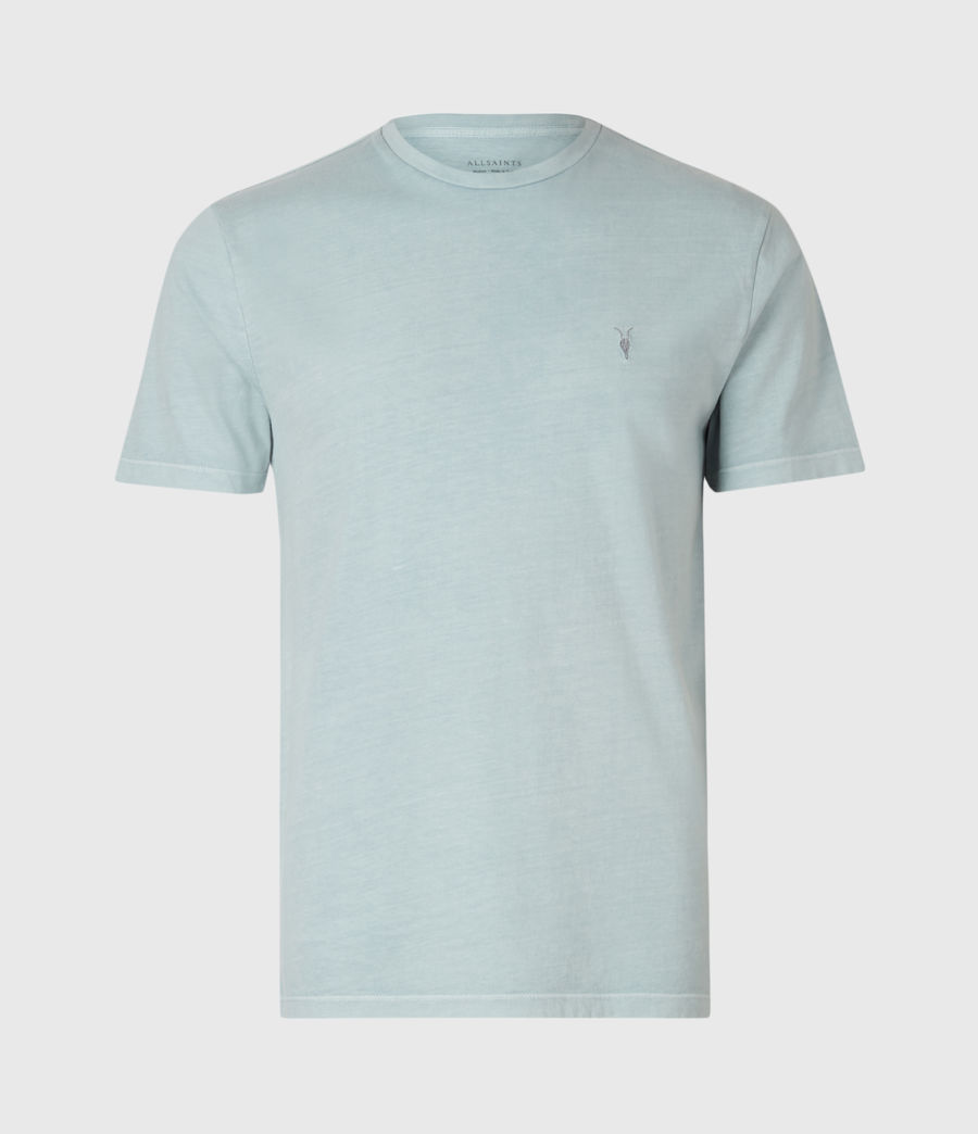 Mens Ossage Crew T-Shirt (riverbed_blue) - Image 2
