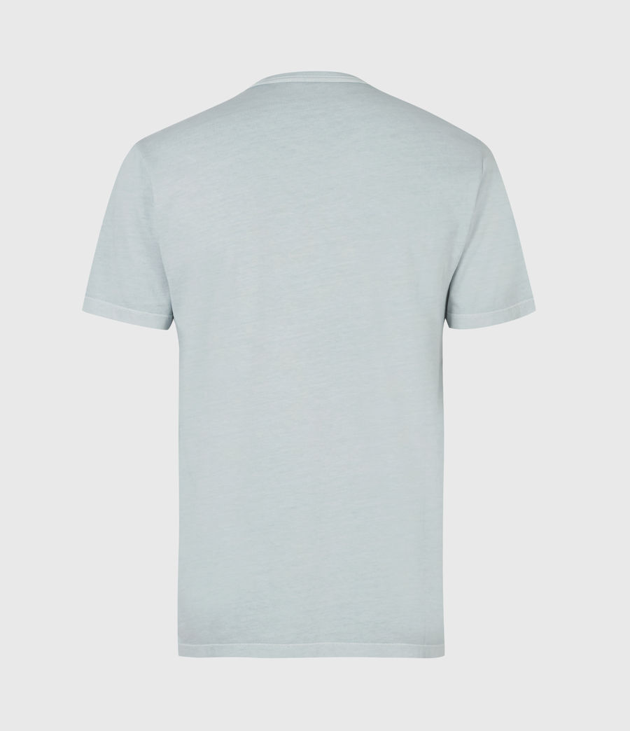 Mens Ossage Crew T-Shirt (riverbed_blue) - Image 3