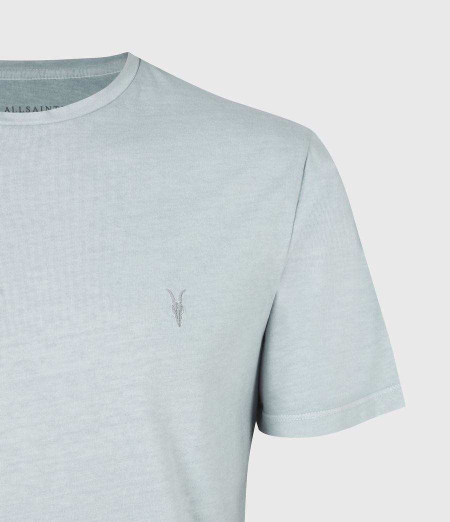 Mens Ossage Crew T-Shirt (riverbed_blue) - Image 5