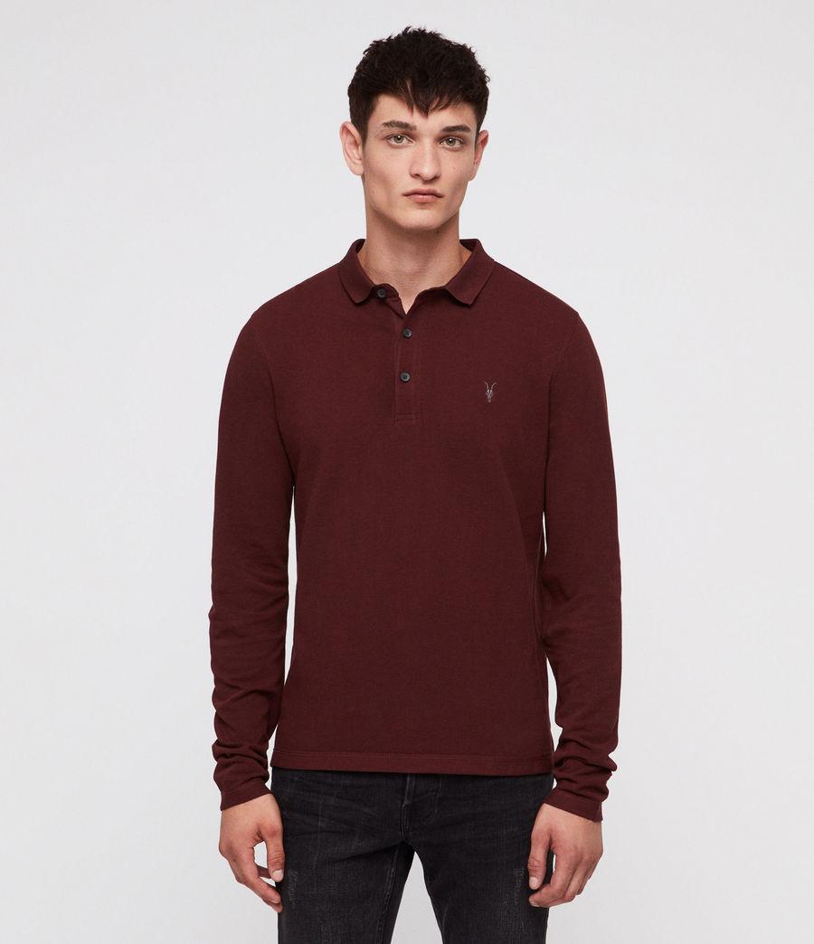 Men's Reform Polo Shirt (dark_rust) - Image 1