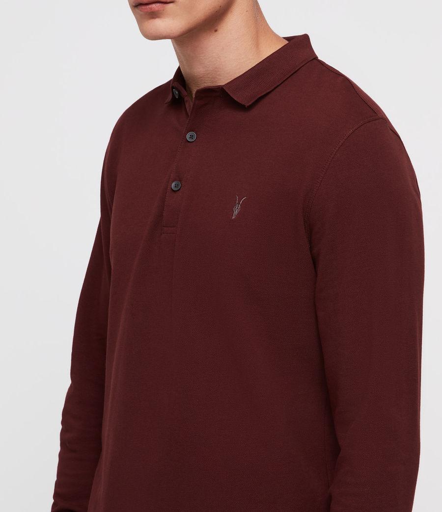 Men's Reform Polo Shirt (dark_rust) - Image 2