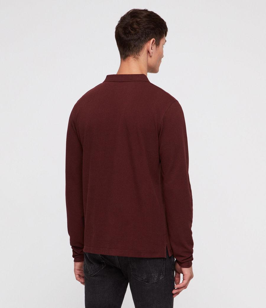 Men's Reform Polo Shirt (dark_rust) - Image 4
