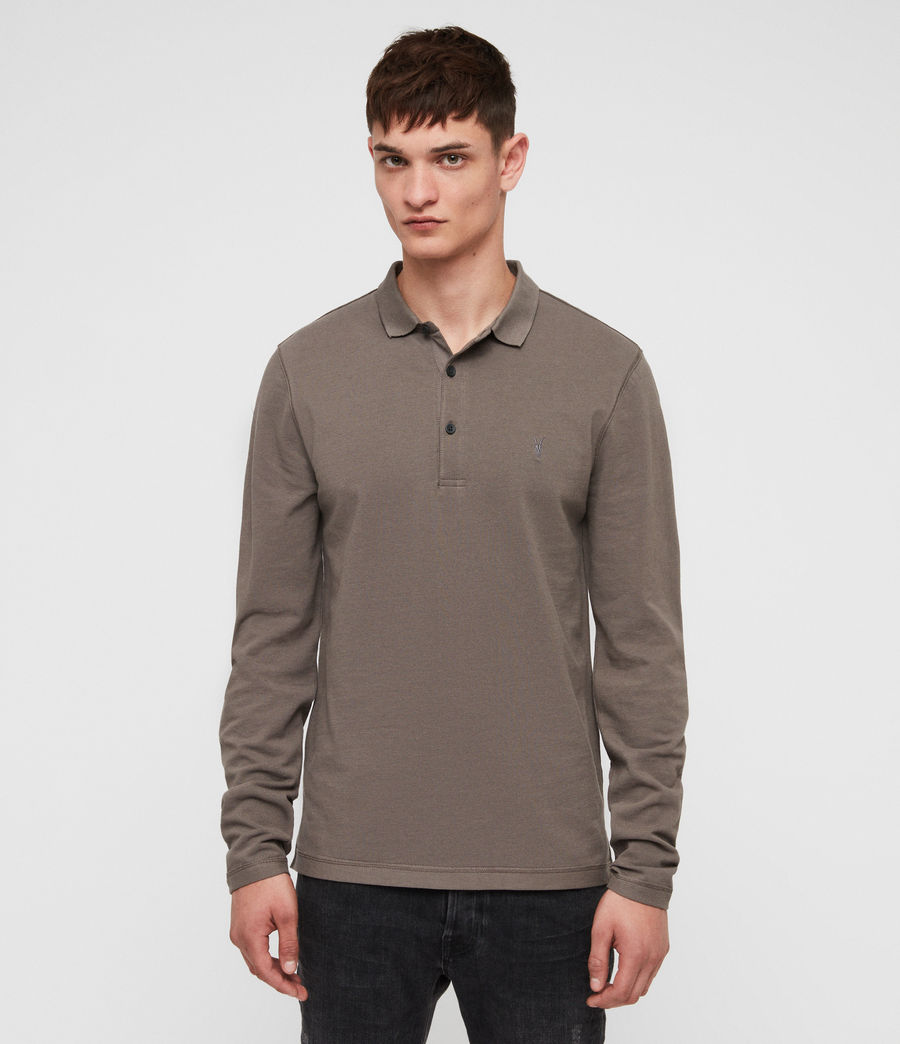 Men's Reform Polo Shirt (core_grey) - Image 1