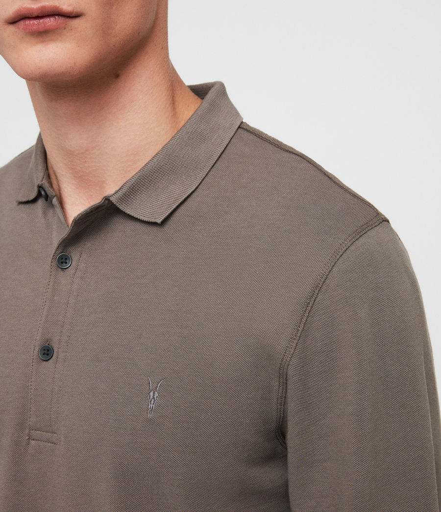 Men's Reform Polo Shirt (core_grey) - Image 2