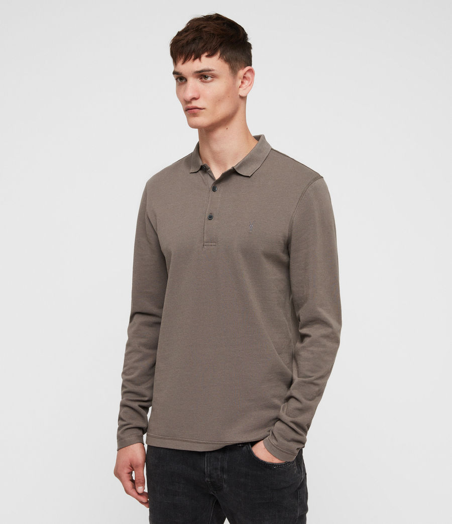 Men's Reform Polo Shirt (core_grey) - Image 3