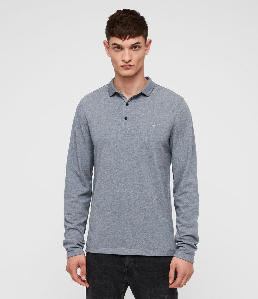 Men's Reform Polo Shirt (arctic_blue_marl) - Image 3
