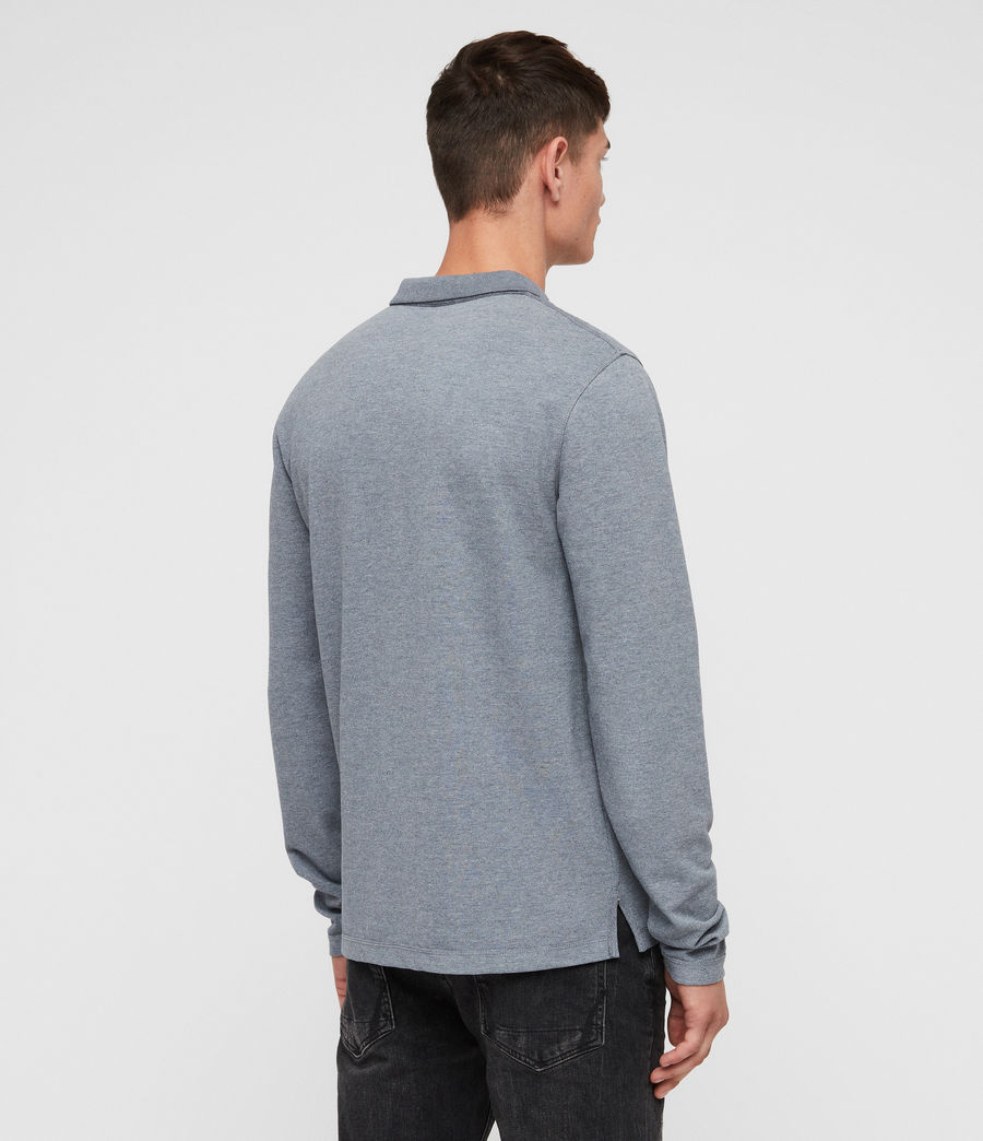 Men's Reform Polo Shirt (arctic_blue_marl) - Image 4