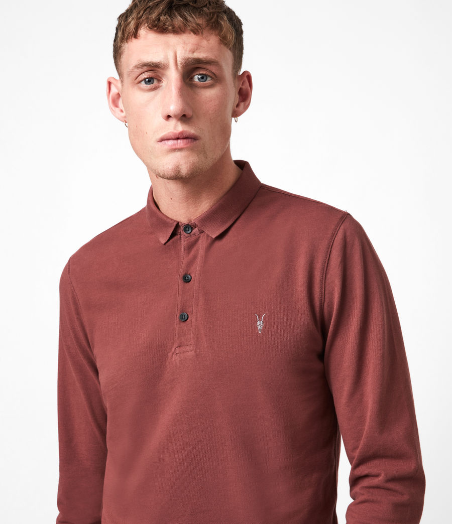 Men's Reform Polo Shirt (arctic_blue_marl) - Image 4