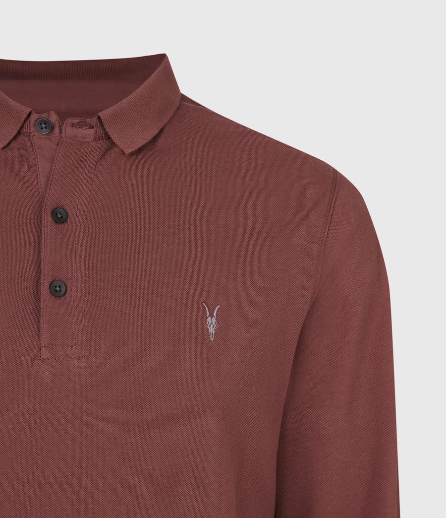 Men's Reform Polo Shirt (arctic_blue_marl) - Image 5