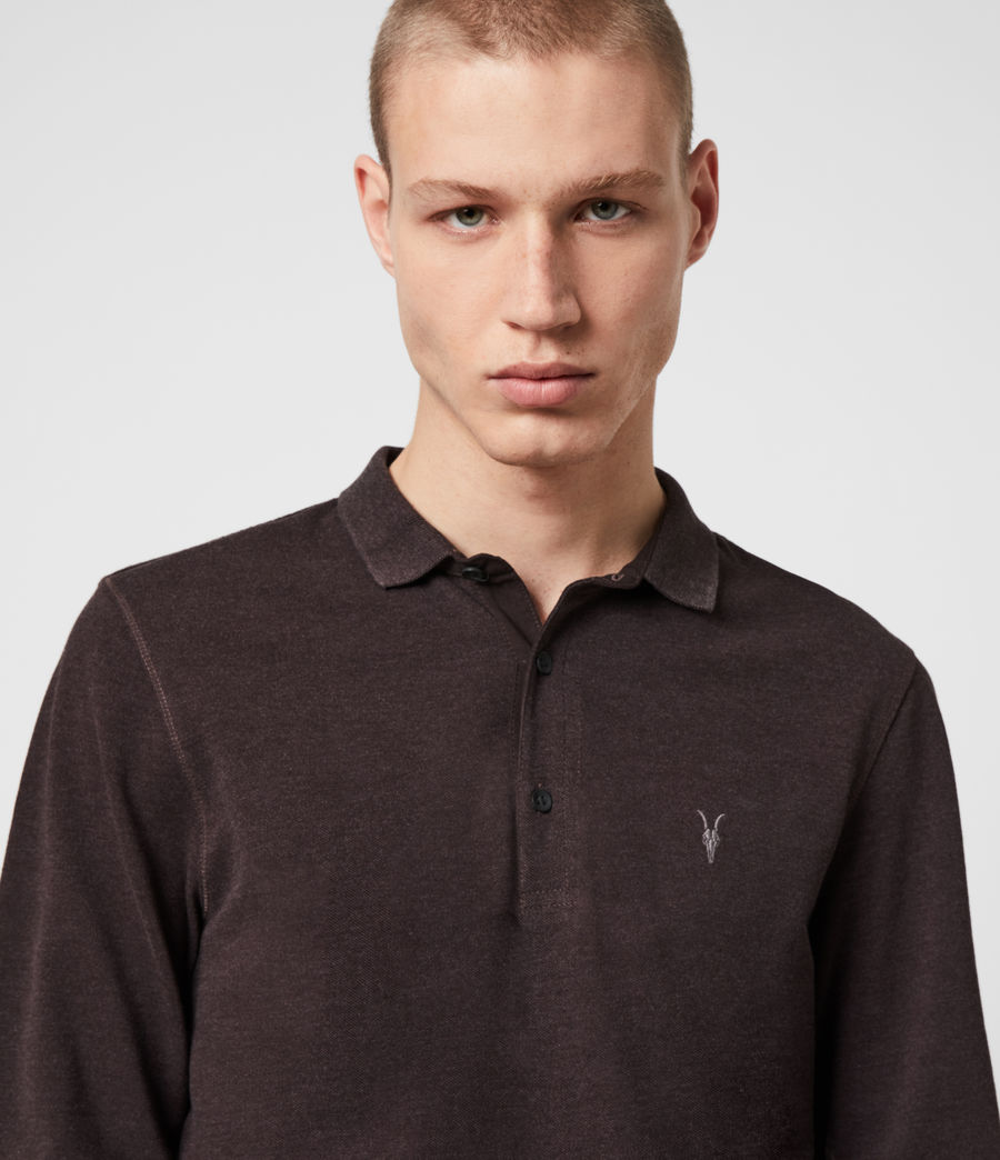 Hommes Polo Reform (mine_grey) - Image 2