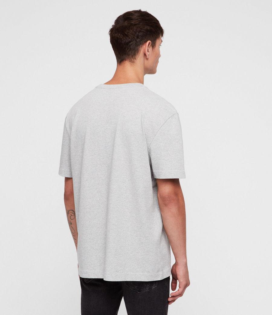 Men's Monta Crew T-Shirt (grey_marl) - Image 4