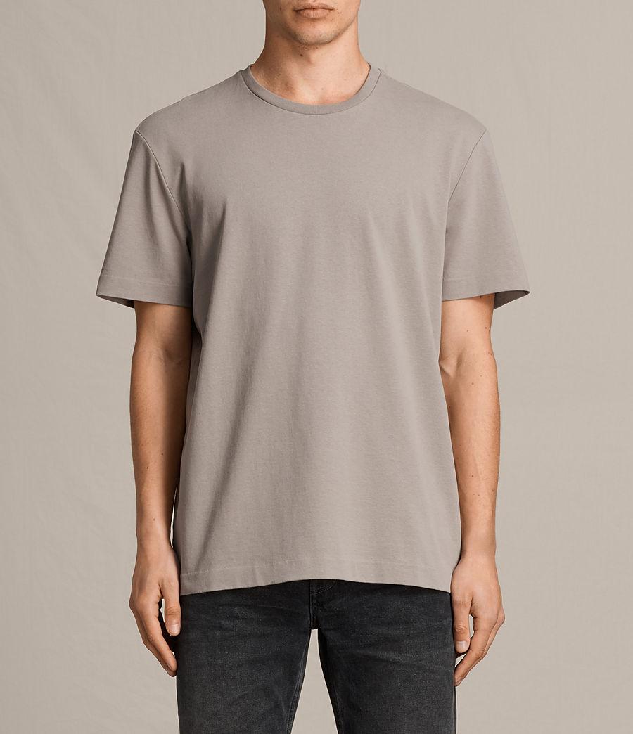 Men's Monta Crew T-Shirt (putty_brown) - Image 1