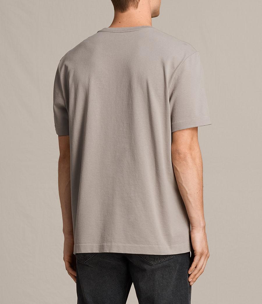 Men's Monta Crew T-Shirt (putty_brown) - Image 3