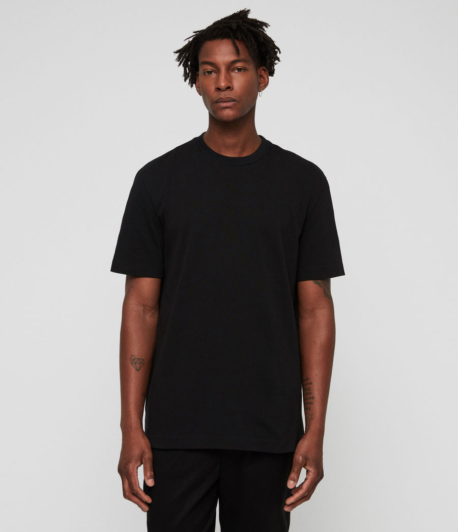 Men's Monta Crew T-Shirt (jet_black) - Image 1