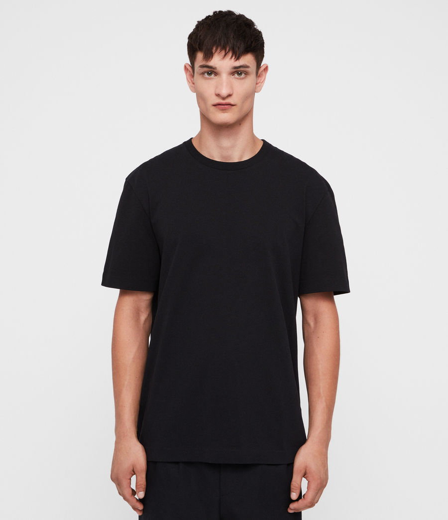 Men's Monta Crew T-Shirt (black) - Image 1