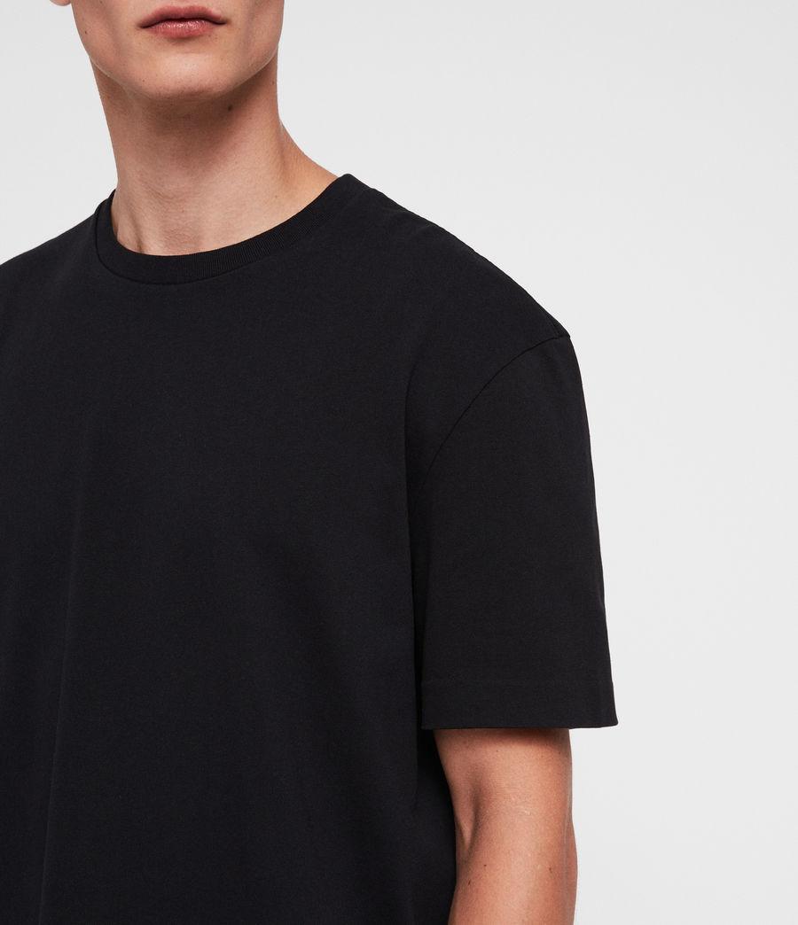 Hombres Monta Crew T-Shirt (black) - Image 2