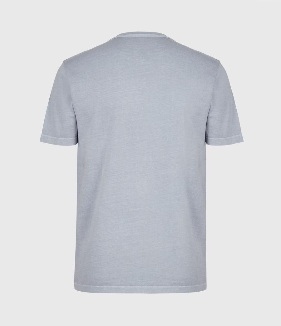 Mens Ossage Crew T-Shirt (moonlit_blue) - Image 2